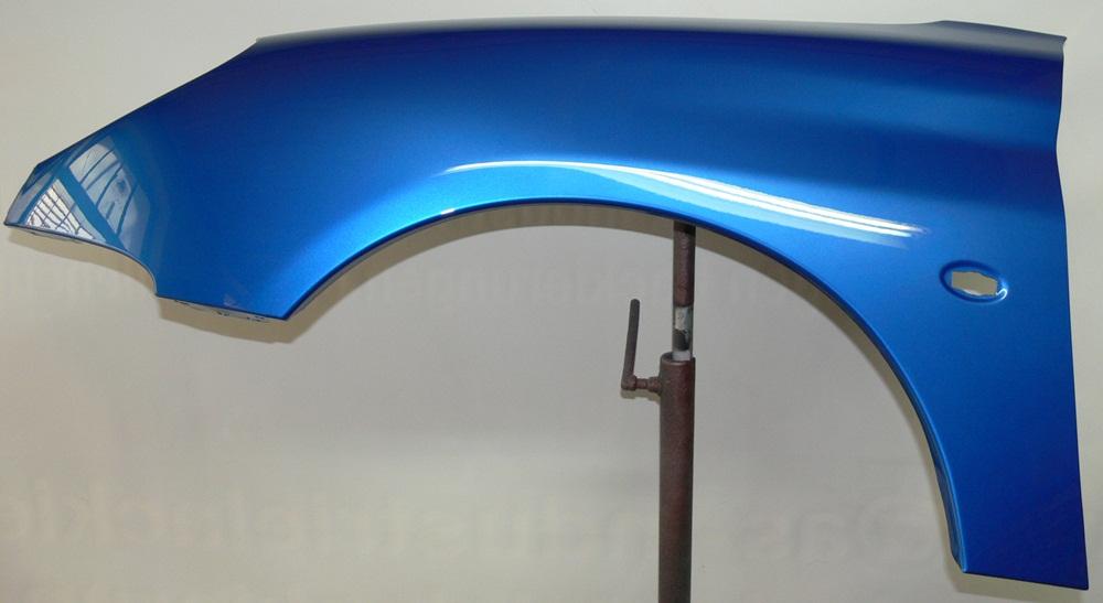 kotfl gel peugeot 206 1998 2006 links neu lackiert kmf. Black Bedroom Furniture Sets. Home Design Ideas